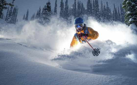 спорт, качестве, хорошем, горнолыжник, спортсменов, ski,