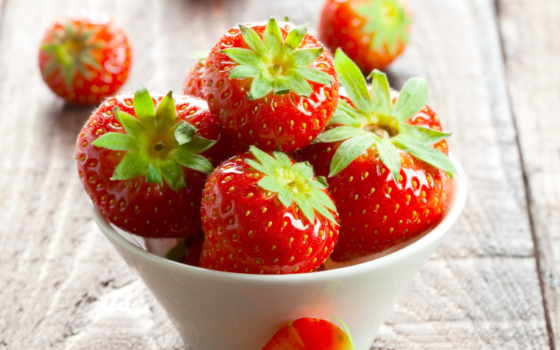 strawberries, клубника, плод, summer, berries, купить, red, столик, чаша, garden, aliexpress,
