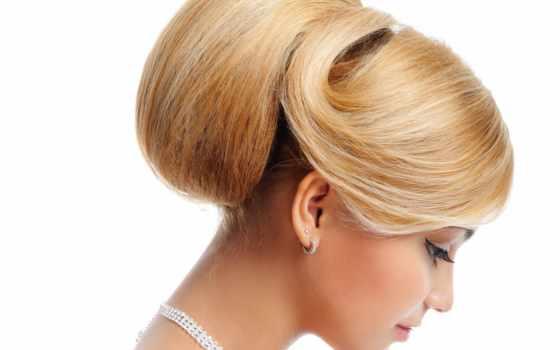 голове, hairstyle, cone, сделать, прически, шишку, волос,