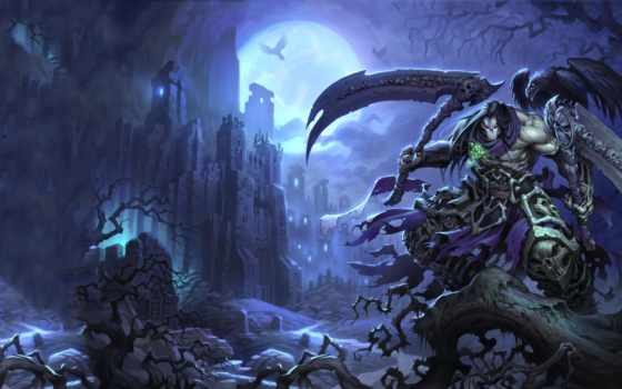 game, death, darksiders,