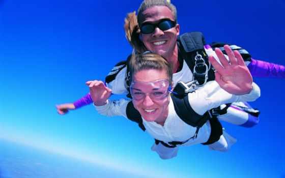 адреналин, полет, прыжок