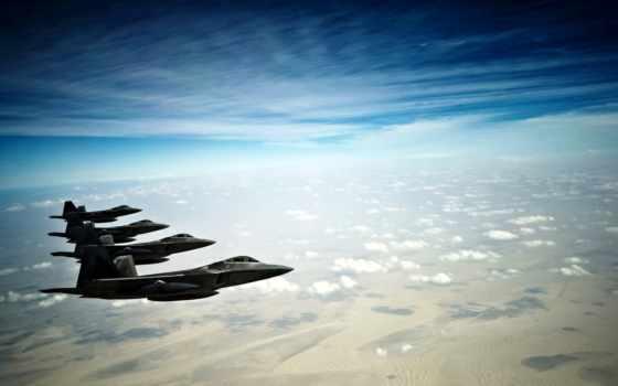 ecran, martin, avion, fonds, avions, raptor, chasse, fond, lockheed, militaire,