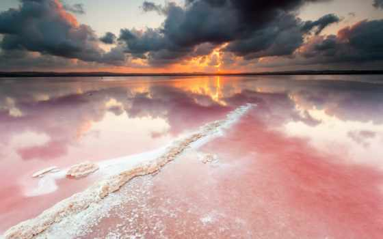 coral, закат, amazing, desktop, full, природа, риф, небо,