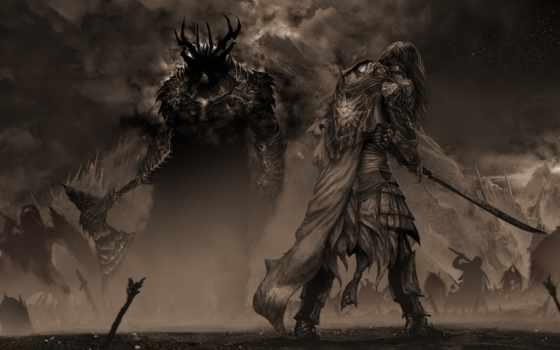 gothmog, feanor, битва, nuin, giliath, под, dagor, stars, lord, depiction,