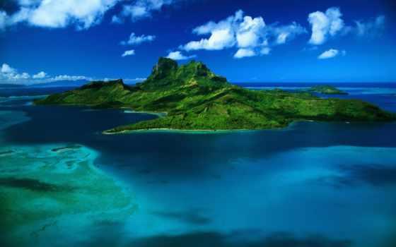острова, море, природа, dee, остров, картинка, ocean, silent, красивые,