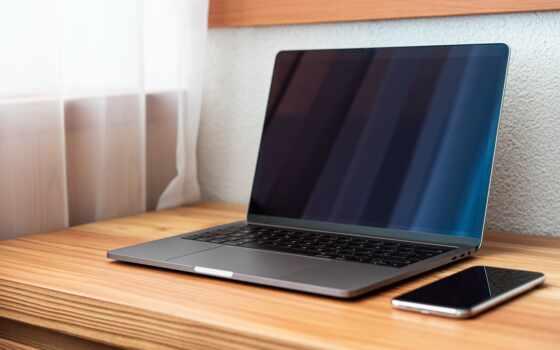 офис, ноутбук, setup, home, работать, desk, современный, digital, simple, фото, technology