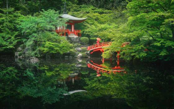 храм, пагода, япония, japanese, summer, мост, ueno, park, гора