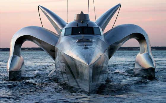 earthrace, судно