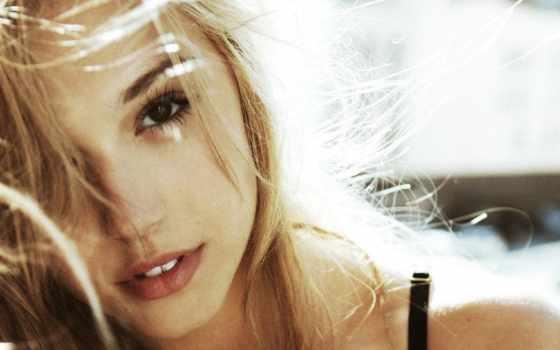 alexis, devushka, blondinka