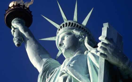 liberty, статуя, свободы