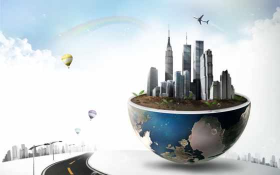 город, photoshop, psd, исходники, облаках, растровый, фотообои, портал, дизайна, графики, вектор,