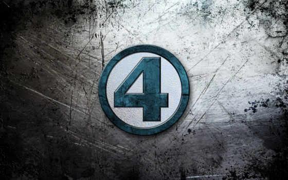 , четыре, супер герои, цифра