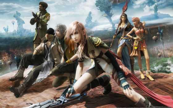 fantasy, final, xiii, pinterest, claire, square, видеоигры, farron, enix,