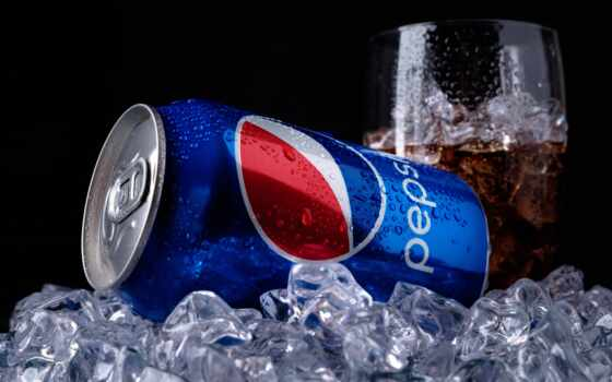 напиток, pepsi, кол, кишка, лед, бренд, product, близко, gazirovat