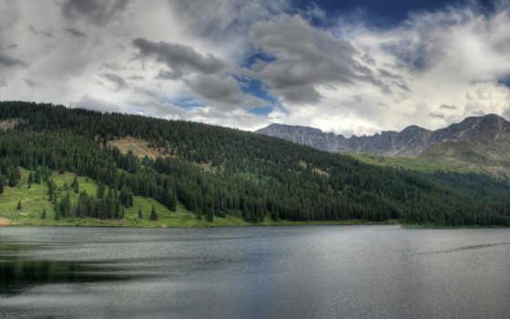 небо, горы Фон № 16518 разрешение 1920x1200