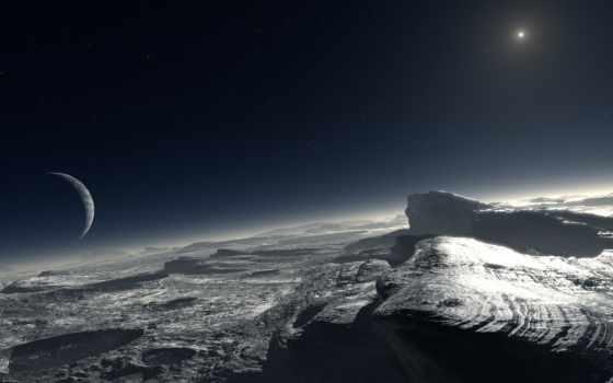 плутона, pluto, infuture, мар, горизонты, charon, плутоне, планеты,