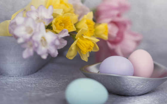 wallpapers, wallpaper, скачать, and, with, flowers, silver, pink, easter, eggs, colour, gentile, нежные, مرغ, holidays,