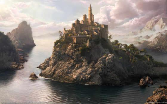 фэнтези, замок