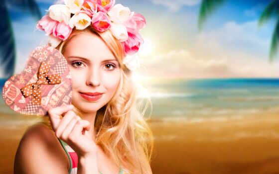 девушки, девушка, цветы Фон № 52946 разрешение 2880x1800