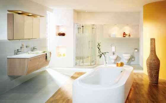 ванной, комнаты, красивые