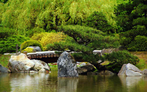 japanese, garden, япония