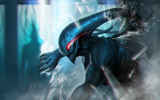 fantasy, монстры, картинка, существа, фантастика, инопланетяне, alien, чужой, art,