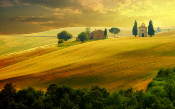 место, see, toskannyi, italian, dream, листь, travel