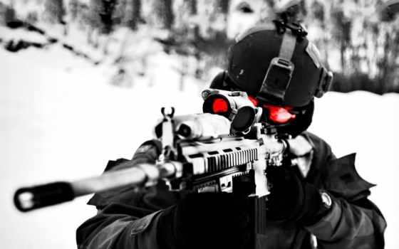 снайпер, оптика