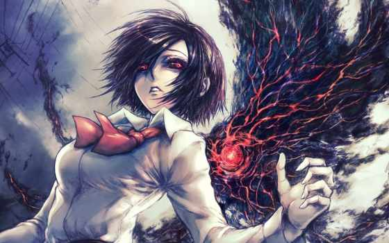 tokyo, гуль, ghoul, anime,