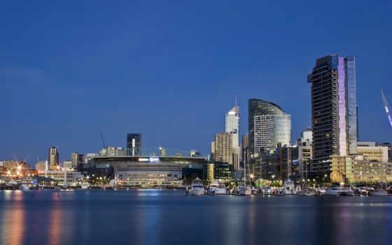 melbourne, австралия, небо
