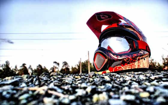 мотокросс, спорт, шлем