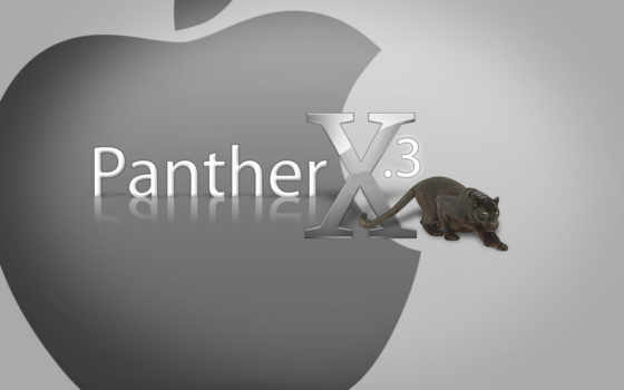 panther, apple, mac