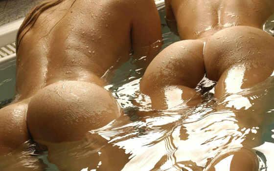 попки, эротический, красивые, девушек, голых, обнаженных, абсолютно, голые,