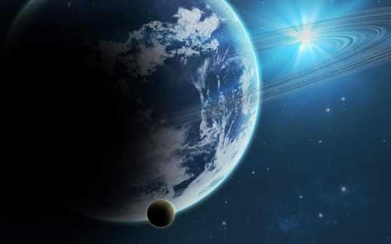 planet, ringed, космос, prodigious, ринг,
