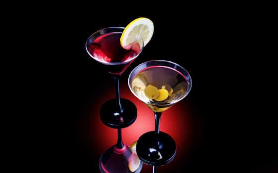 коктейль, лимон