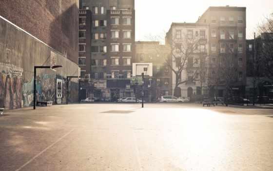 площадка, баскетбольная