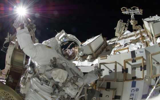 астронавт, масть, космос, мкс, луна,