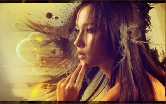 волосы, автор, модель