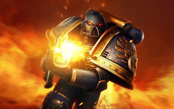 warhammer, космос, marine, воин, игры,