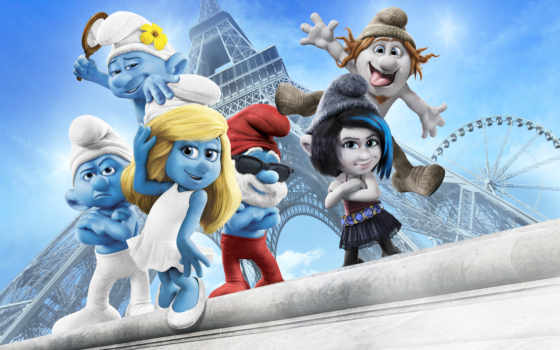 smurfs, movie, смурфики