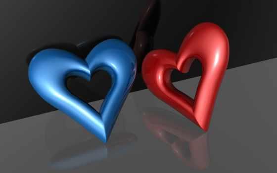 черви, сердце, love