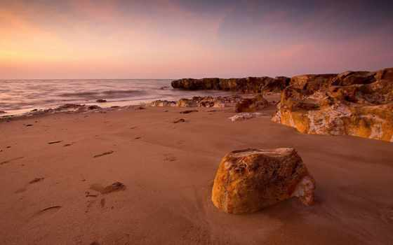duvar, kağıtları, берег, masaüstü, скалы, море, небо, пляж,