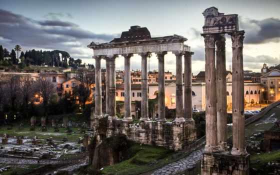 roman, forum, рим