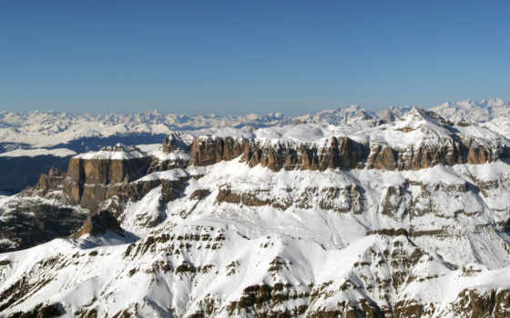 marmolada, gallery, ski