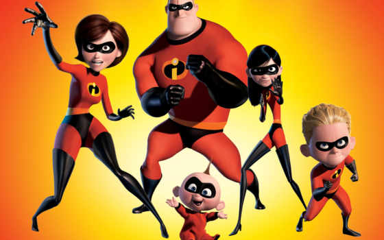 incredibles, суперсемейка, брэд, птица,