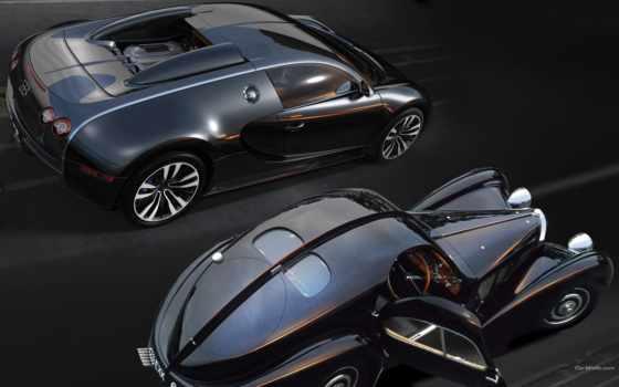 bugatti, veyron, sang, noir,