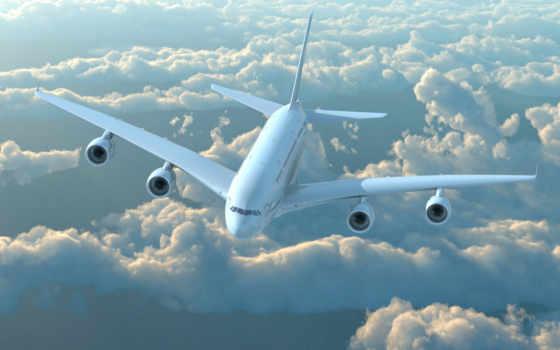 самолёт, небе, небо, благовещенском, красиво, plane, аэропорту, полет, китаянка,