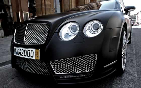 bentley, continental, mansory, black, континенталь, matt, mat, мансори,