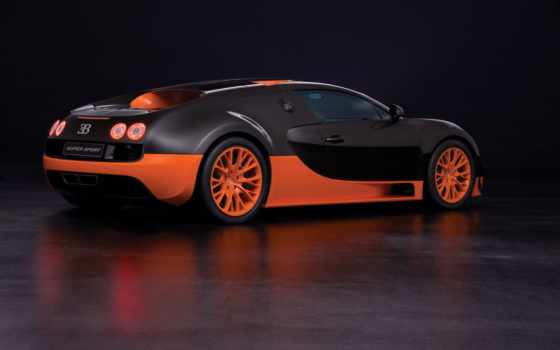 bugatti, veyron, спорт, супер, record, new, скорости,