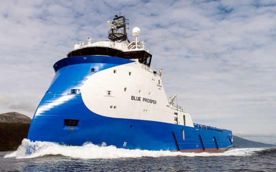 судно, blue, море, истребитель, горы, oblaka, корабли, снабжения, небо, platform, корабль,